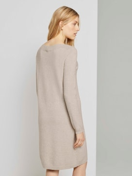Knitted dress with a submarine neckline - 2 - TOM TAILOR