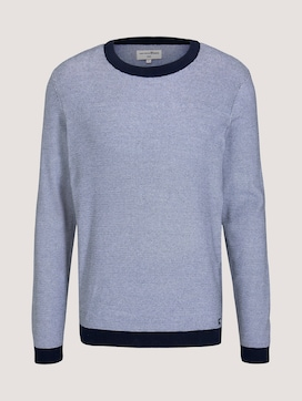 Strukturierter Pullover - 7 - TOM TAILOR Denim