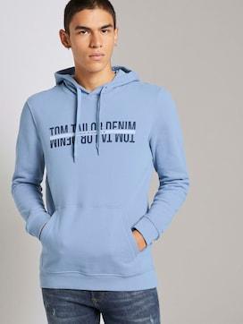 Hoodie met print - 5 - TOM TAILOR Denim