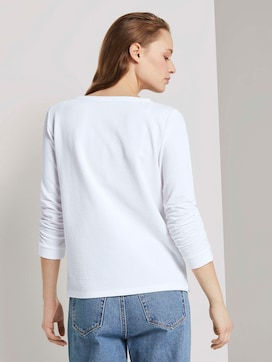 Getextureerde sweatshirt - 2 - TOM TAILOR Denim