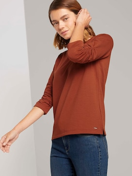 Getextureerde sweatshirt - 5 - TOM TAILOR Denim