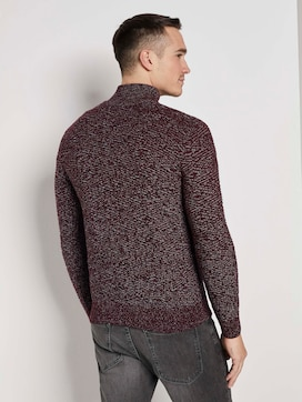 Troyer Pullover met getextureerd patroon - 2 - TOM TAILOR