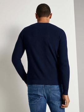Gebreide trui met zijkant - 2 - TOM TAILOR