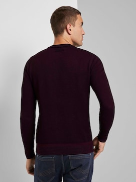 Sweater met fijn patroon - 2 - TOM TAILOR