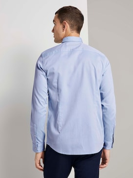 Finely patterned shirt with a bow - 2 - TOM TAILOR