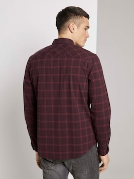 Geruite stretch overhemd - 2 - TOM TAILOR