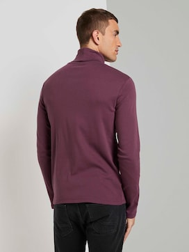 Basic Coltrui shirt met lange mouwen - 2 - TOM TAILOR