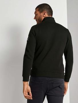 Ottoman Troyer Sweatshirt - 2 - TOM TAILOR