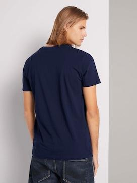 T-Shirt mit Printmit Bio-Baumwolle  - 2 - TOM TAILOR Denim