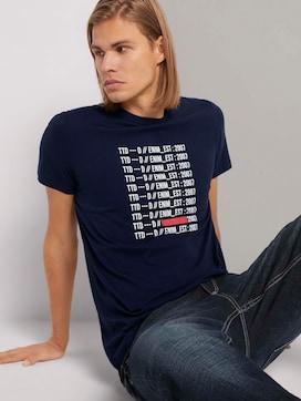 T-Shirt mit Printmit Bio-Baumwolle  - 5 - TOM TAILOR Denim
