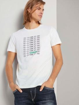 T-shirt met printmet biologisch katoen  - 5 - TOM TAILOR Denim