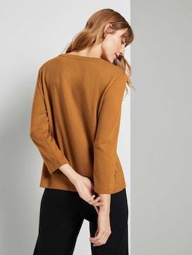 Shirt met 3/4 mouw met print - 2 - TOM TAILOR