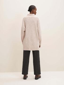 Lange trui met opstaande kraag - 2 - TOM TAILOR Denim