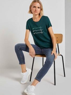 T-Shirt mit Stickerei - 5 - TOM TAILOR Denim