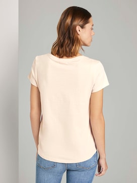 T-Shirt mit Stickerei - 2 - TOM TAILOR Denim