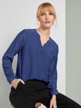 Basis blouse met knoopdetails - 5 - TOM TAILOR