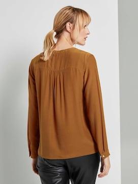 Basic Bluse mit Knopfdetails - 2 - TOM TAILOR