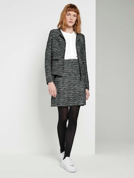 Boucle mini skirt - 3 - TOM TAILOR