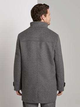 Stehkragen Mantel aus Wollmischung - 2 - TOM TAILOR
