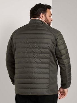 Hybrid quilted jacket with a stand-up collar - 2 - Men Plus