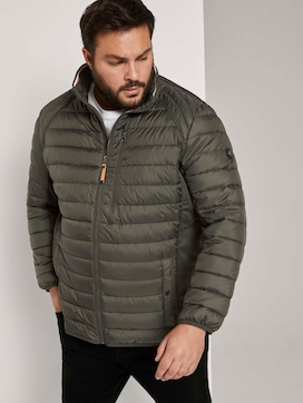 Hybrid quilted jacket with a stand-up collar - 5 - Men Plus