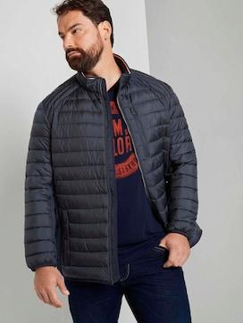 Hybride gewatteerde jas met opstaande kraag - 5 - Men Plus