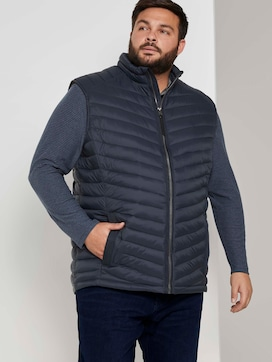 lightweight Quilted vest with a stand-up collar - 5 - Men Plus