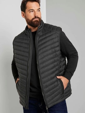 lightweight Quilted vest with a stand-up collar - 5 - Tom Tailor E-Shop Kollektion