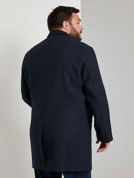 Klassischer Wollmantel - 2 - Men Plus