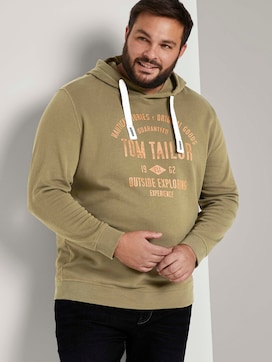 Hoodie with a logo print - 5 - Tom Tailor E-Shop Kollektion