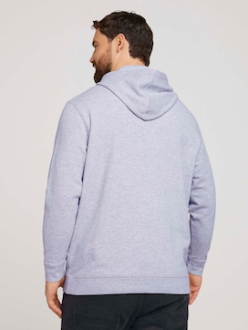 Hoodie with a logo print - 2 - Men Plus