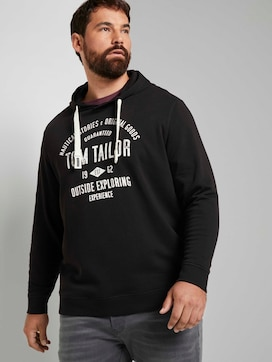 Hoodie met logo print - 5 - Tom Tailor E-Shop Kollektion