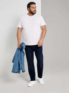 Regular Slim Jeans - 3 - Men Plus