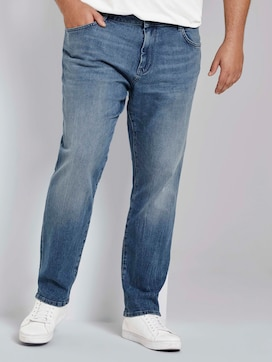 Regular Slim Jeans - 1 - Men Plus