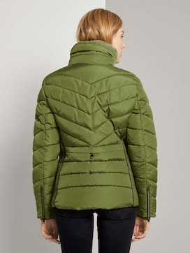 Buffer jacket with a removable fur collar - 2 - TOM TAILOR