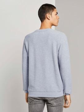 Sweatshirt with a zip - 2 - TOM TAILOR Denim