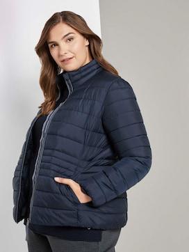 Lichtgewicht gewatteerde jas met opstaande kraag - 5 - Tom Tailor E-Shop Kollektion