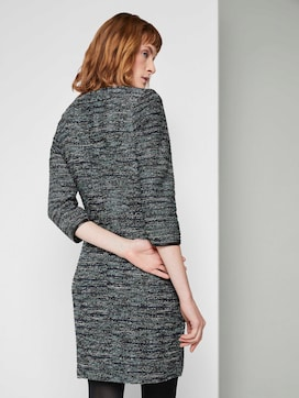 Boucle schede jurk - 2 - TOM TAILOR