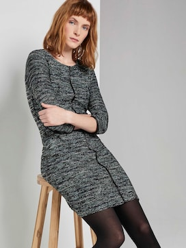 Boucle schede jurk - 5 - TOM TAILOR
