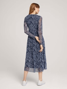 Patterned mesh dress - 2 - TOM TAILOR