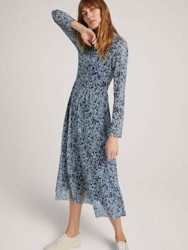 Patterned mesh dress - 5 - TOM TAILOR