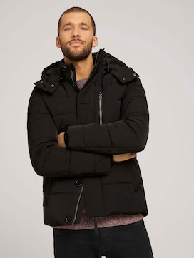 Pufferjacke mit abnehmbarer Kaupze - 5 - TOM TAILOR