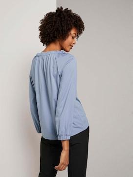 Blouse top met elastische mouwen - 2 - Tom Tailor E-Shop Kollektion