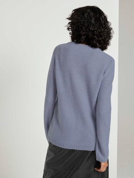 Weicher Strickpullover Loose Fit - 2 - Mine to five