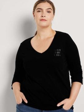 T-shirt met V-hals - 5 - Tom Tailor E-Shop Kollektion