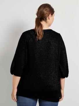 Shirt mit Ballonärmeln - 2 - My True Me