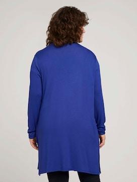 Shirt Cardigan mit Seitenschlitzen - 2 - My True Me