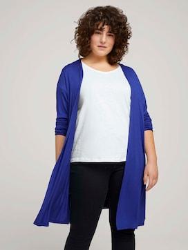 Shirt Cardigan mit Seitenschlitzen - 5 - My True Me