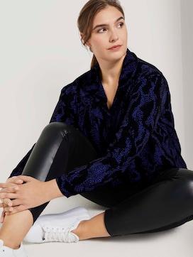 Shirt blouse met fijne ruches - 5 - Tom Tailor E-Shop Kollektion