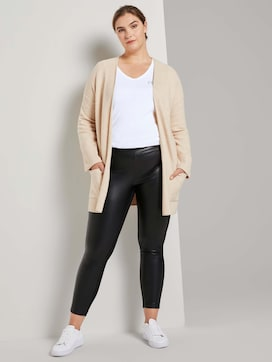 Leder-look legging - 3 - Tom Tailor E-Shop Kollektion
